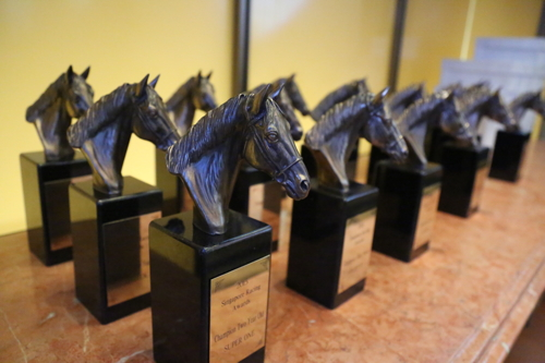 Singapore Racing Award Trophies